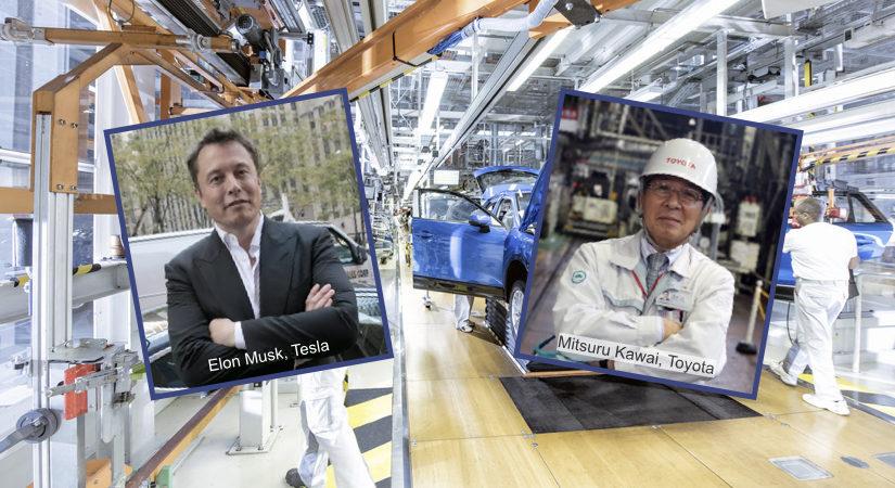 Tesla vs Toyota - automatiseerimine ja lean tootmine