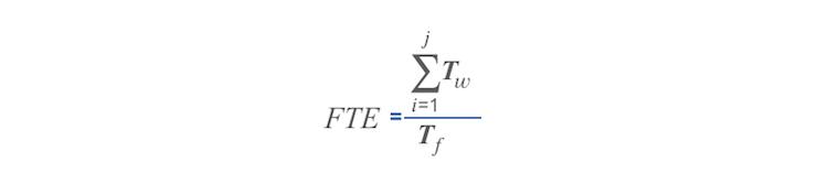 FTE arvutamine
