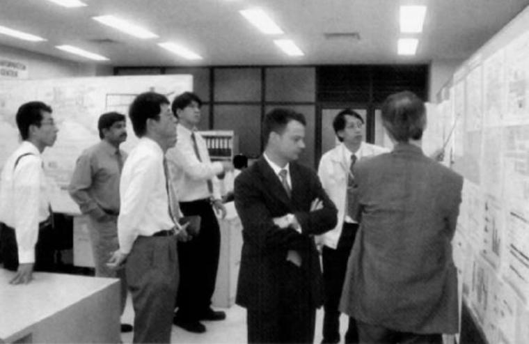 Obeya algupärane ruum Toyota Tai tehases